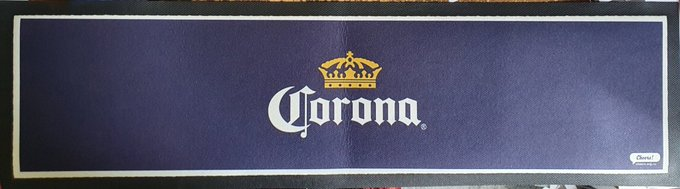 Corona Rubber Bar Mat