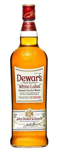 Dewars White Label Scotch 1L