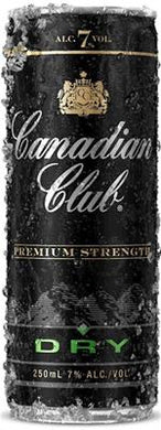Canadian Club & Dry 7% 250ml 4 pack