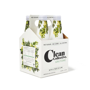 Clean Collective Gin & Tonic 4 pack