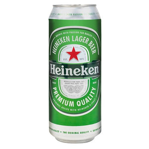 Heineken single 500ml can