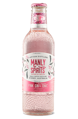 Manly Spirits Pink Gin and Tonic 4 pack