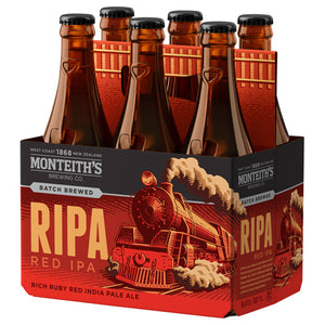 Monteiths Ripa Red 6 pack