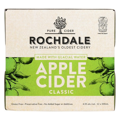 Rochdale Cider 12 pack