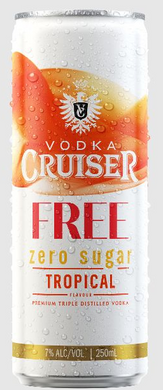 Cruiser Zero Sugar Tropical 12 pack cans