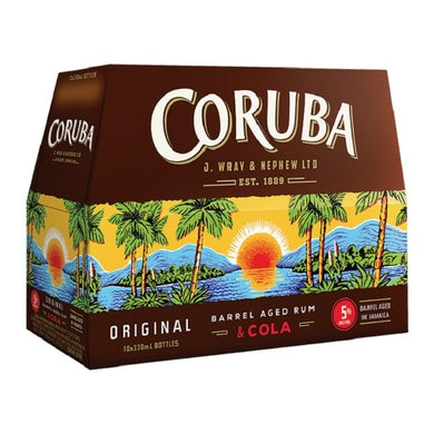 Coruba 10 330ml bottles