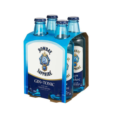 Bombay Gin & Tonic 4 pack