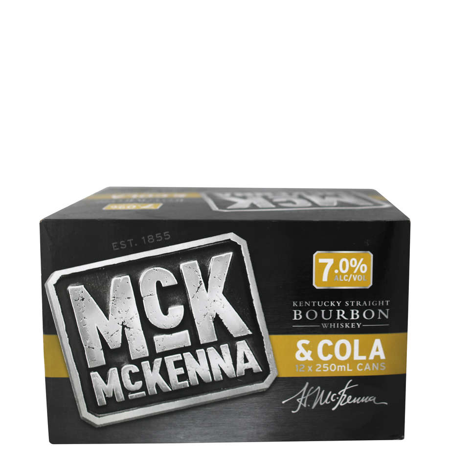 Mckenna & Cola 12 pack 250ml 7%