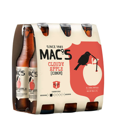 Macs Cloudy Apple Cider 6 pack