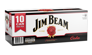 Jim Beam & Cola 10 pack cans