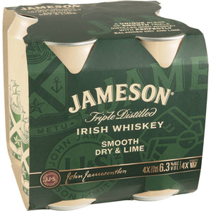 Jamesons & Dry 4 pack cans