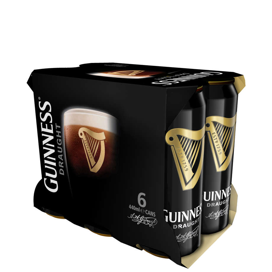 Guinness 6pack 440ml Cans