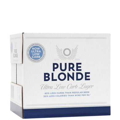 Pure Blonde 12 pack