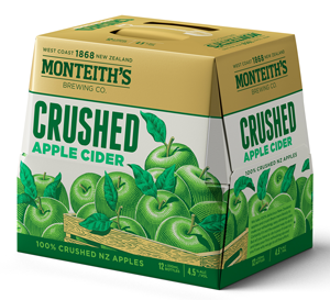Monteiths 12pack apple cider