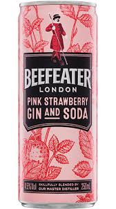 Beefeater Pink Gin & Soda 4 pack