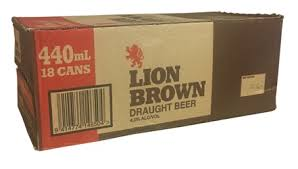 Lion Brown 440ml 18 pack