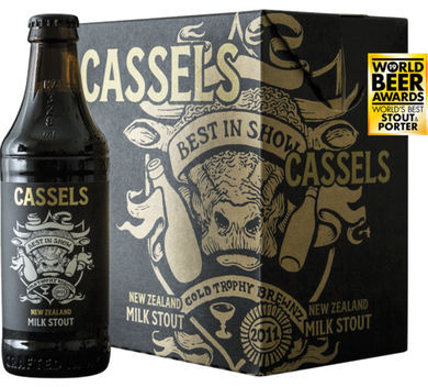 Cassels Milk Stout 6 pack 330ml