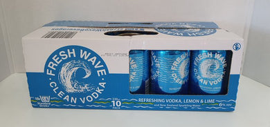 Fresh Wave Vodka Lemon & Lime 10 pack