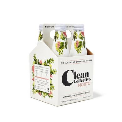 Clean Co Watermelon Cucumber Lime 4 pack