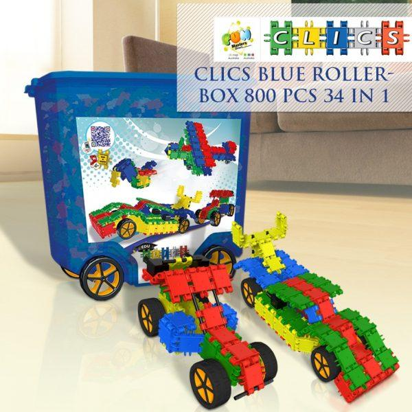 Clics Build & Play 800 Pieces 34-In-1