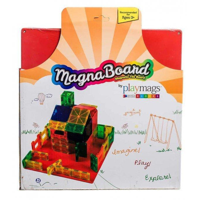 Playmags Large 3D Clear Colour Magnetic Board 30x30cm (2015-'16)