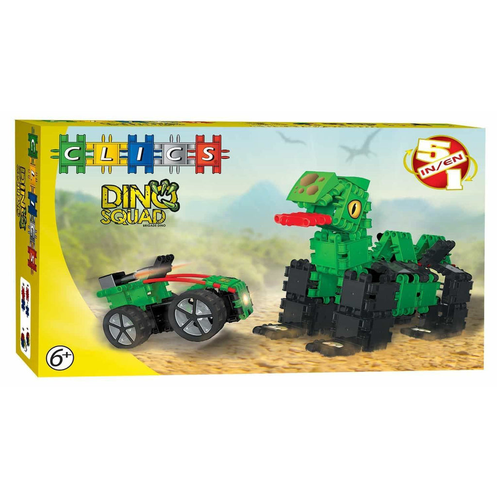 Dino Squad Box 5-In-1
