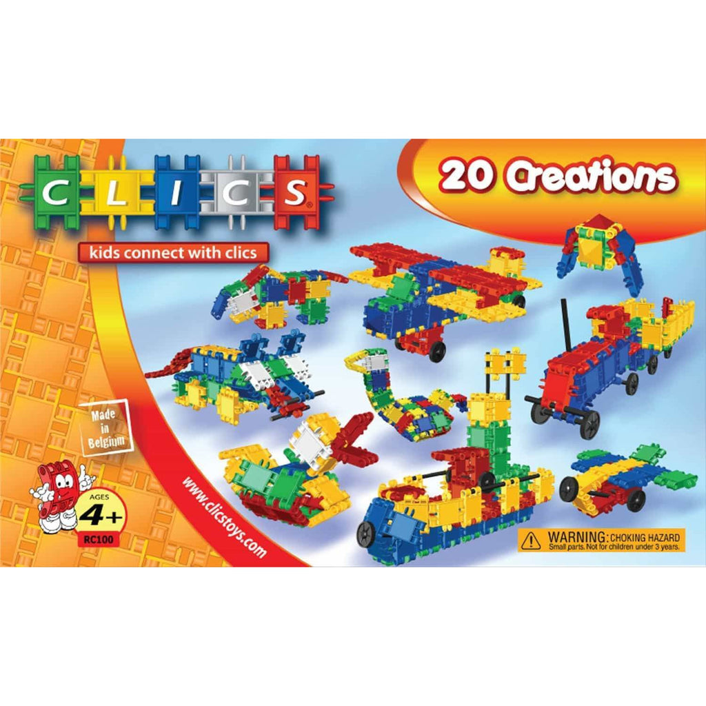 Build & Play Constructions Box 20-In-1