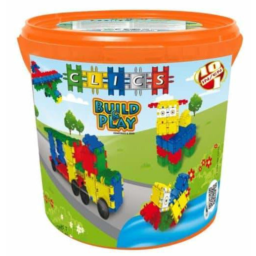 Build & Play Drum 225 Colorful Pieces 10-In-1