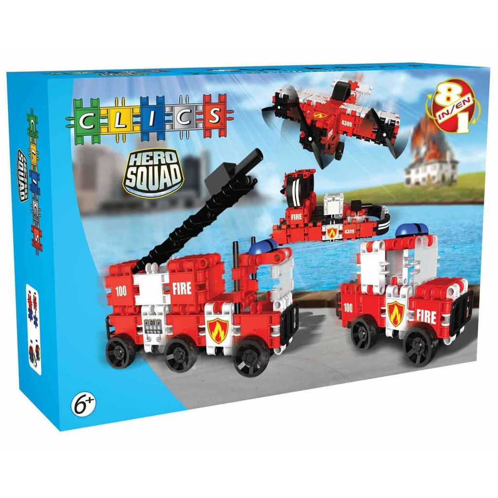 Hero Squad FIRE Brigade Box 8-In-1