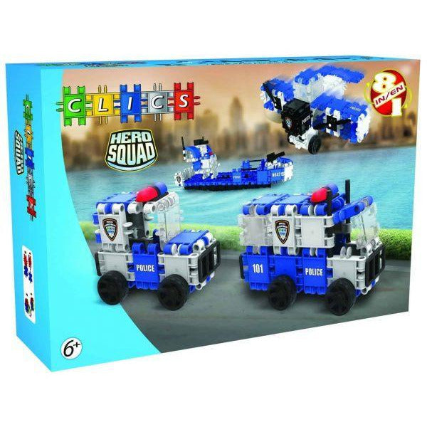 Hero Squad POLICE Box 8-In-1