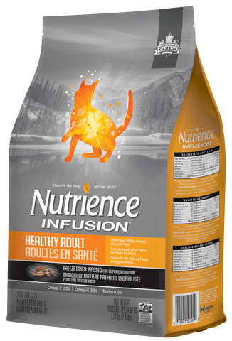Nutrience Infusion Gato Adulto Pollo del Fraser Valley Fresco