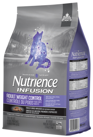 Nutrience Infusion Gato Adulto Control Peso