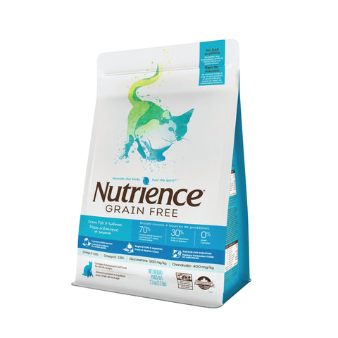 Nutrience Grain Free Gatos Ocean Fish Formula Todas las Edades
