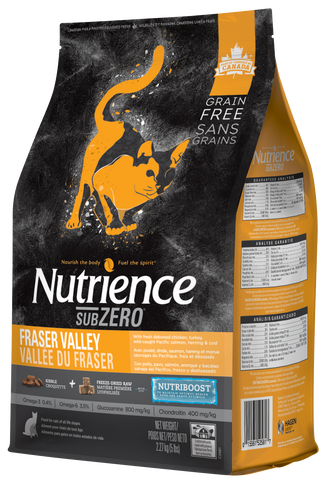 Nutrience SubZero Gato Fraser Valley