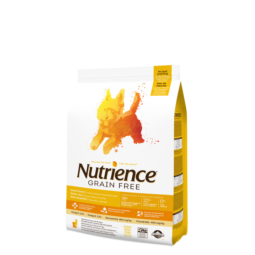 Nutrience Grain Free Perros Adulto Pavo Pollo Arenque
