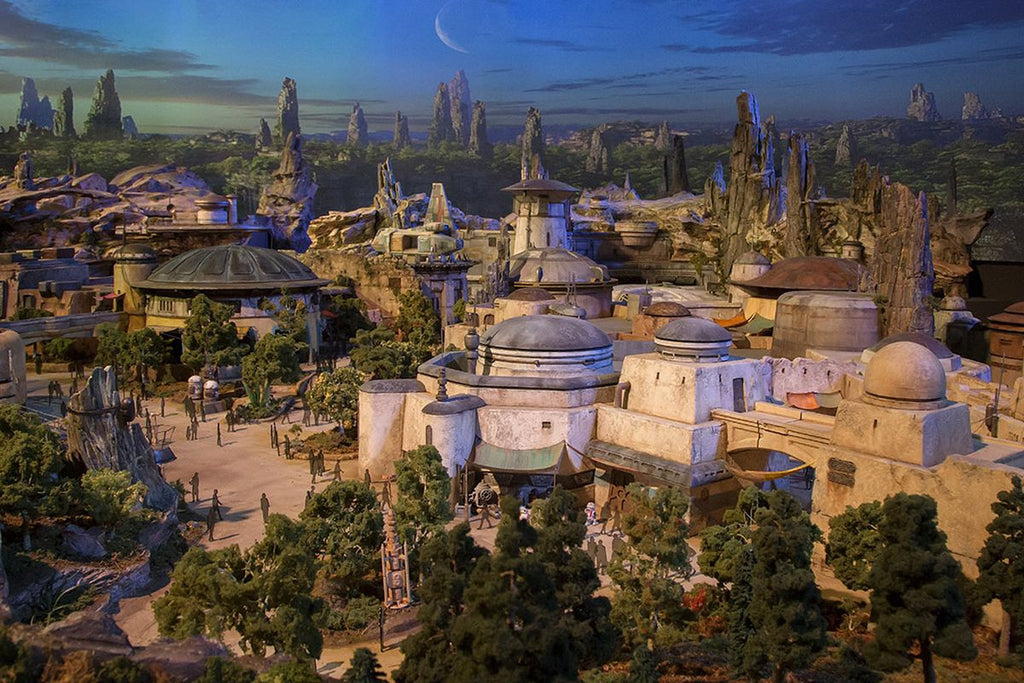 First Look At Disneyland's STAR WARS LAND!! (it's incredible)