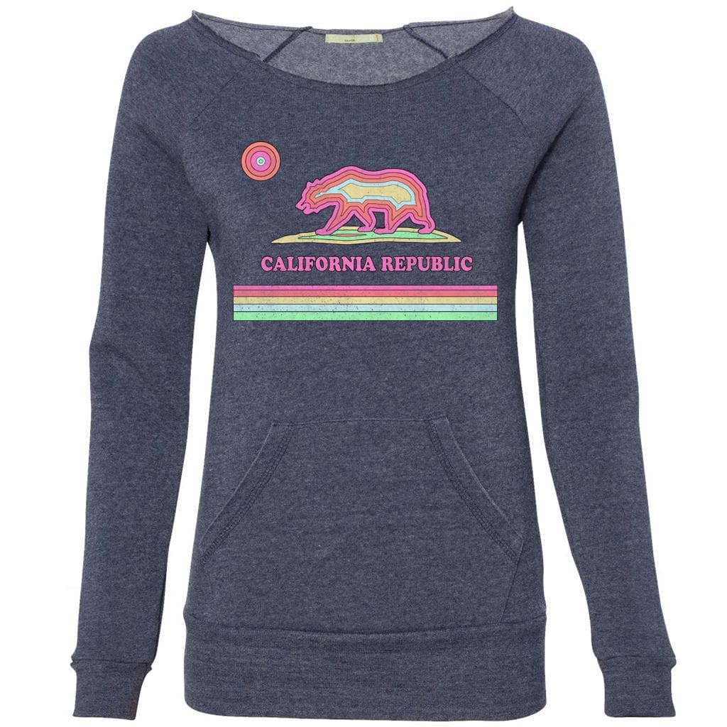 Epic CA scoop neck navy sweater-Sweaters-CA LIMITED