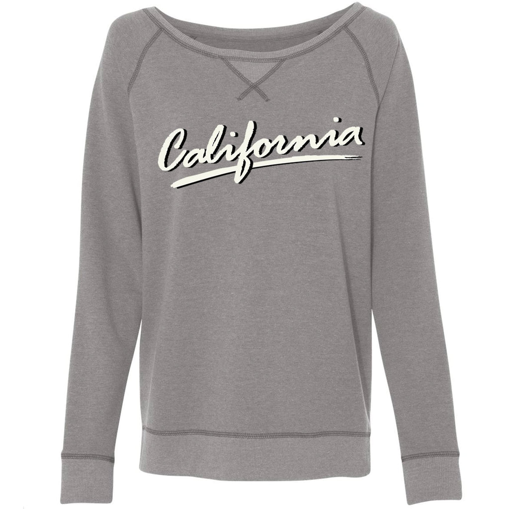 California Swoosh Grey Varsity Sweater-Sweaters-CA LIMITED