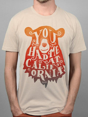 Tan You had me at California Tee