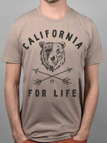 California For Life Tee