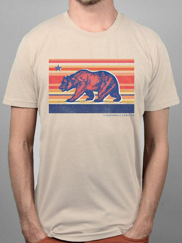 Sunset Bear Tee