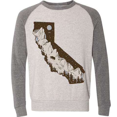Redwoods California Ivory Grey Pullover Sweater