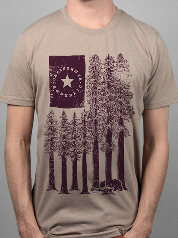 Tan Redwoods Tee