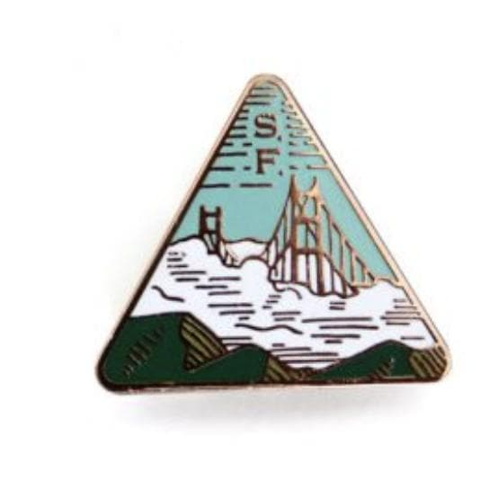 San Francisco Pin-Pins-CA LIMITED