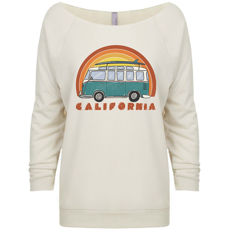 Surf van Raglan Sweater