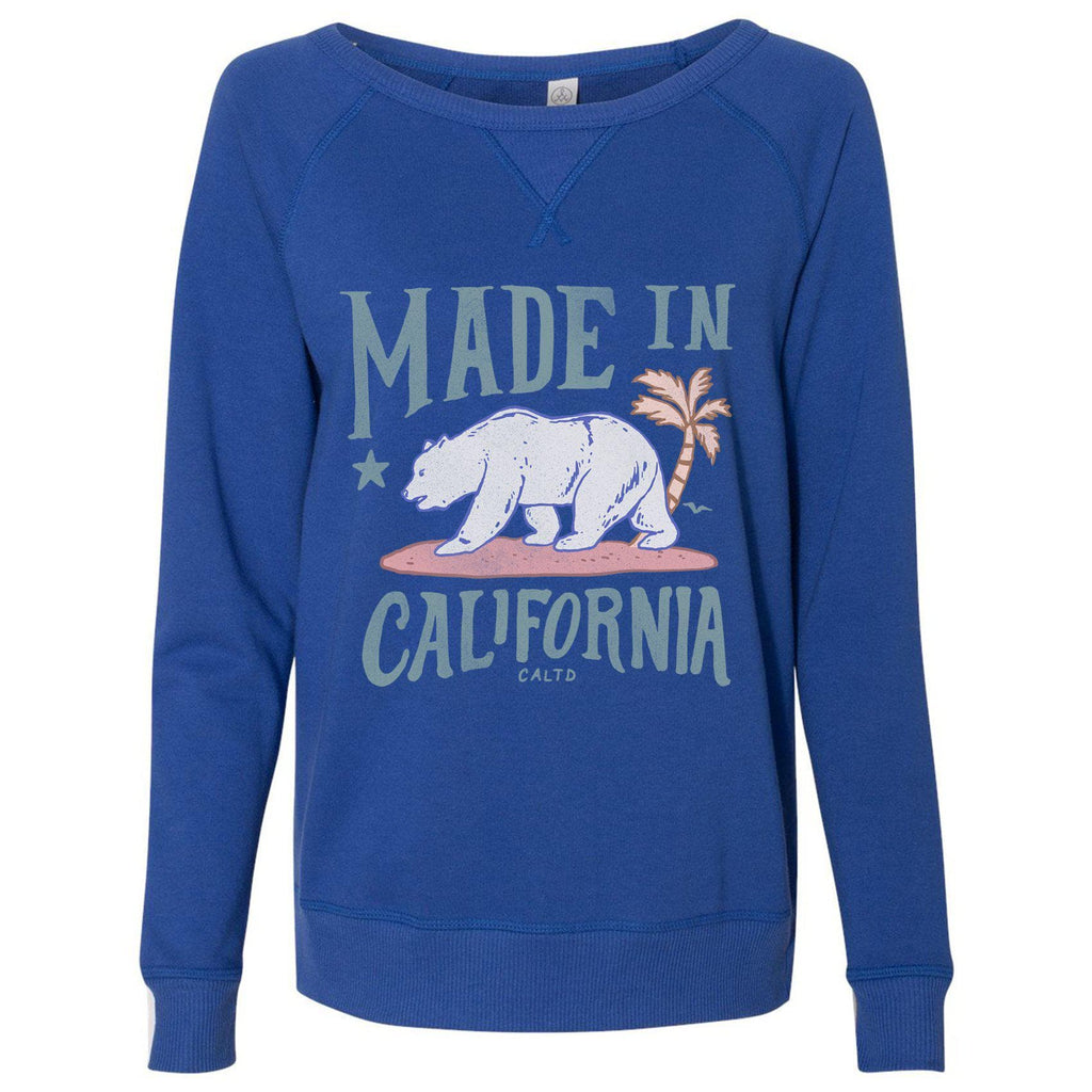 Made in California Royal Blue Pullover Sweater-Sweaters-CA LIMITED