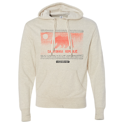 California Republic Flag Hoodie