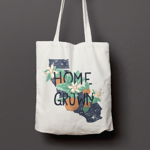 Home Grown Tote Bag