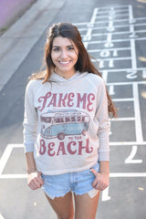 Take me to the beach pullover Hoodie