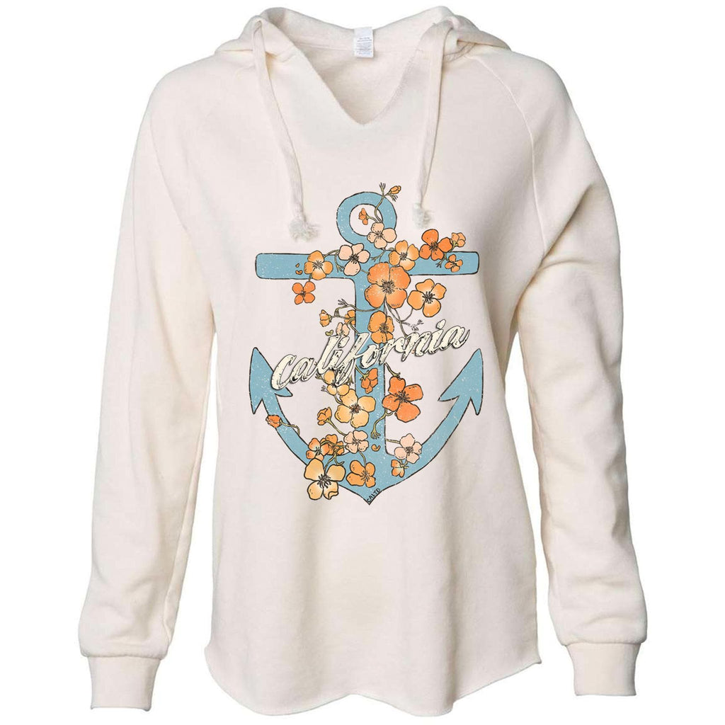 Anchor Poppies Bone Tunic-CA LIMITED